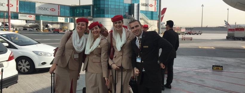 How I Became Emirates Cabin Crew Lipstick And Luggage